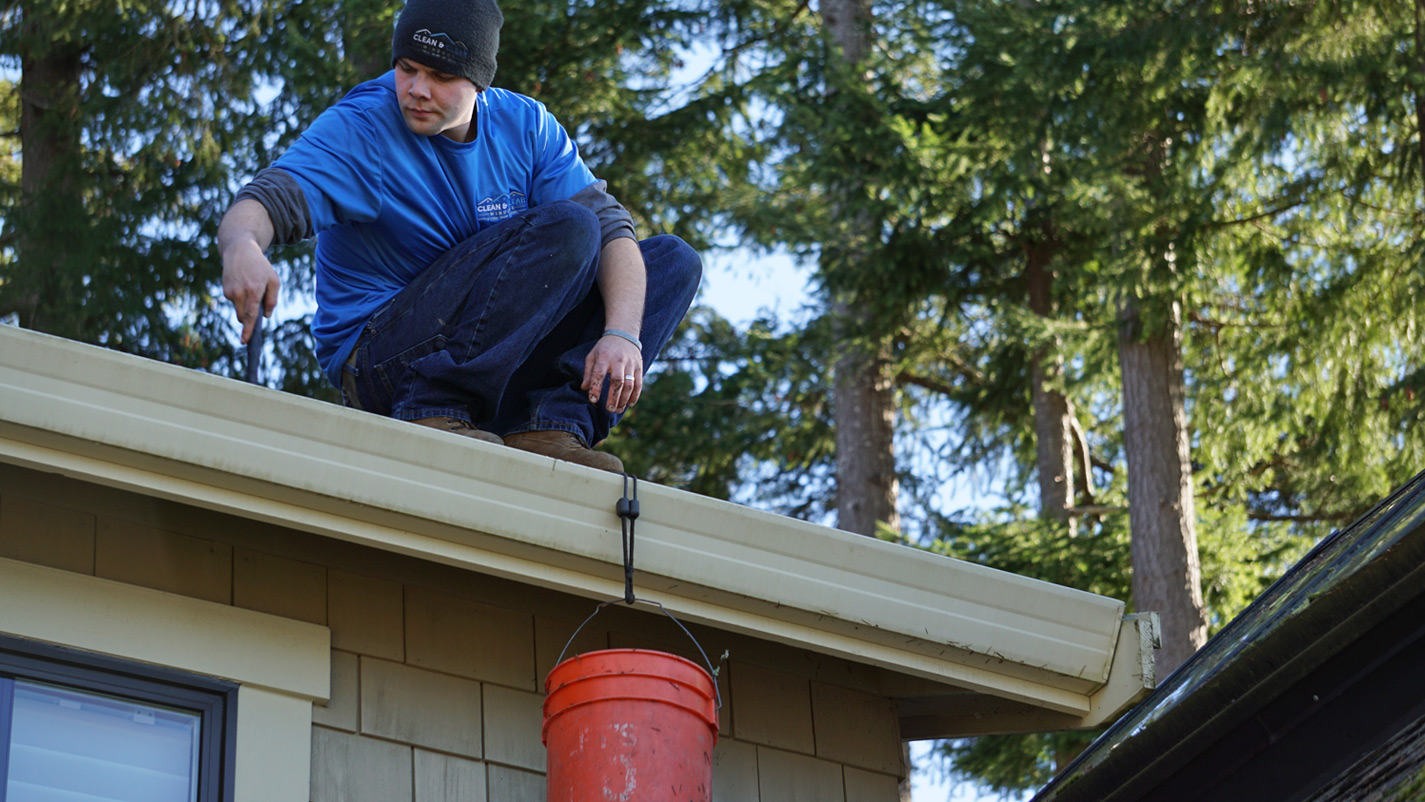 Gutter Cleaning Gig Harbor Clean Amp Clear Windows
